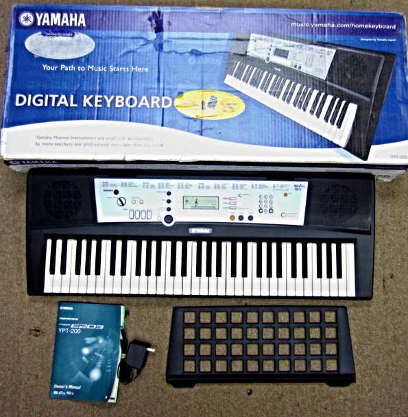 yamaha digital keyboard ypt 200. Black Bedroom Furniture Sets. Home Design Ideas