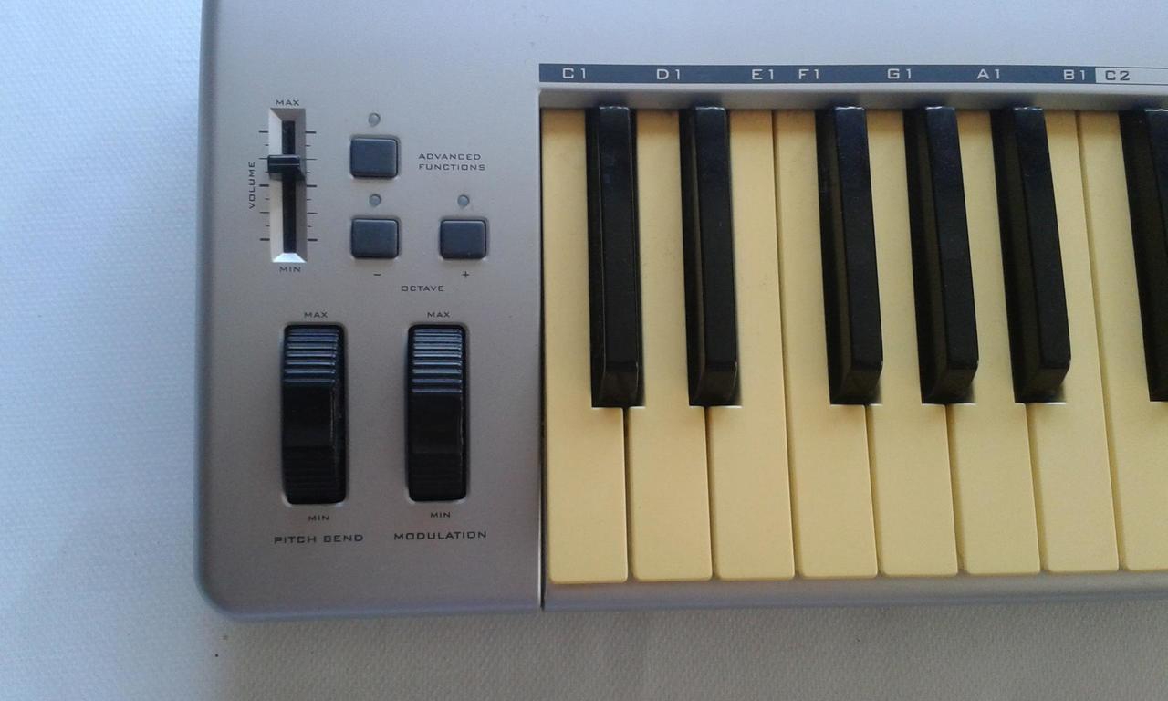 m audio keystation 49e how to use