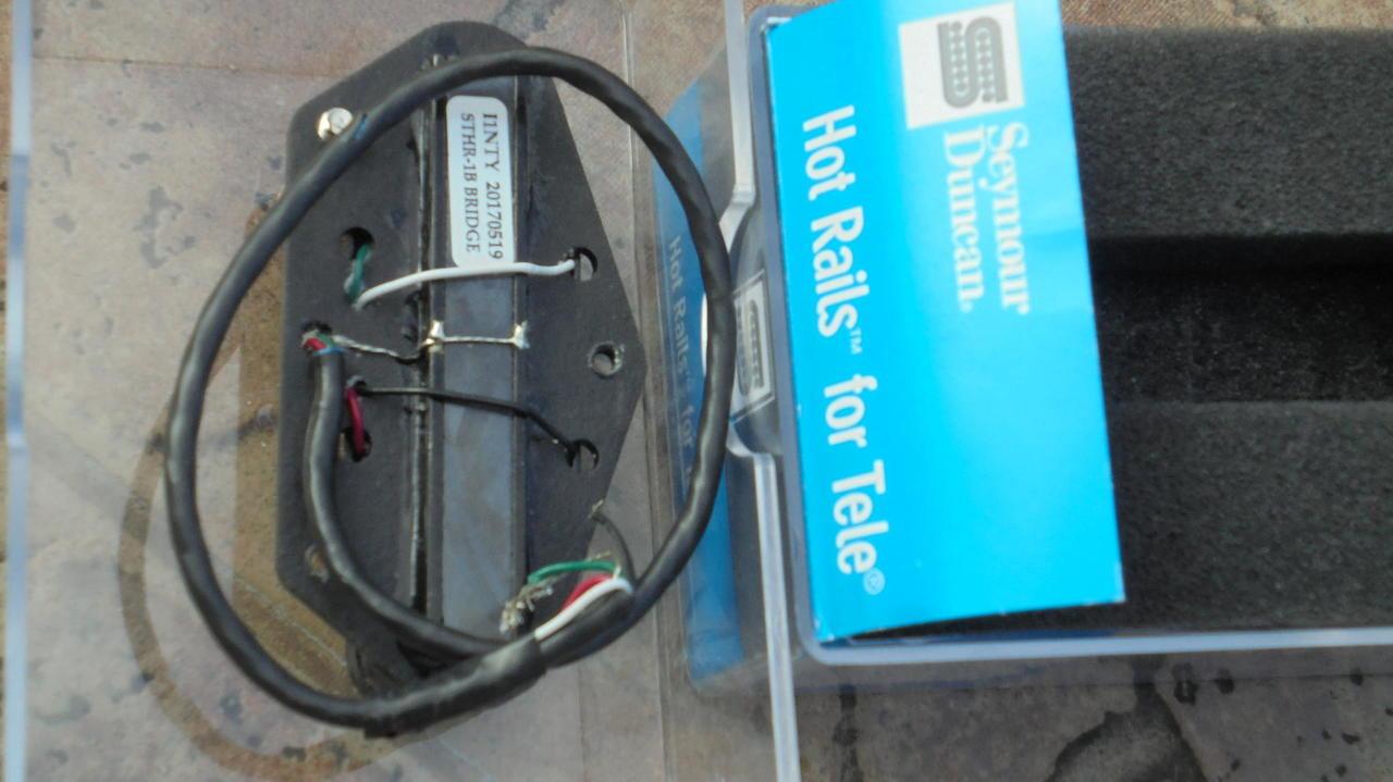 Seymour Duncan HOT RAILS tele STHR 1B Bridge